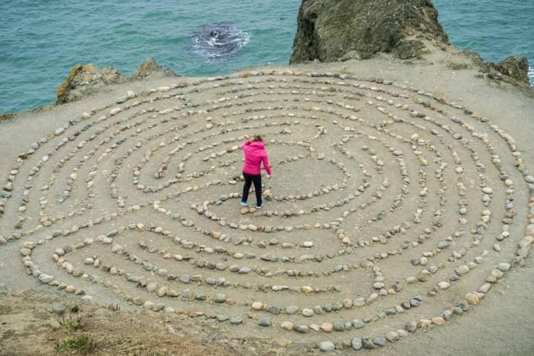 Labyrinth at Lands End, San Francisco, CA