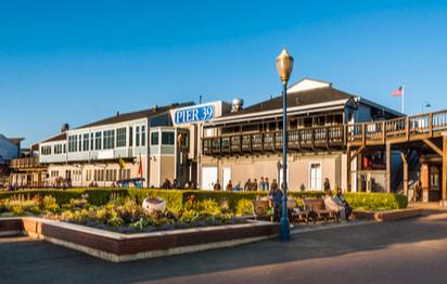 an exterior of pier 39