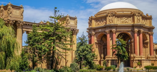 the palace of fine arts at the presidio san francisco